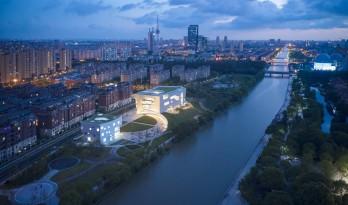 上海中粮南桥半岛文体中心与医疗服务站 / Steven Holl Architects
