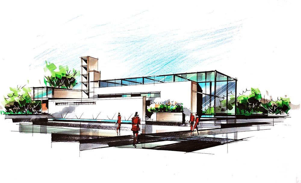 9月5日:第五期《设计手绘》(针对建筑专业)