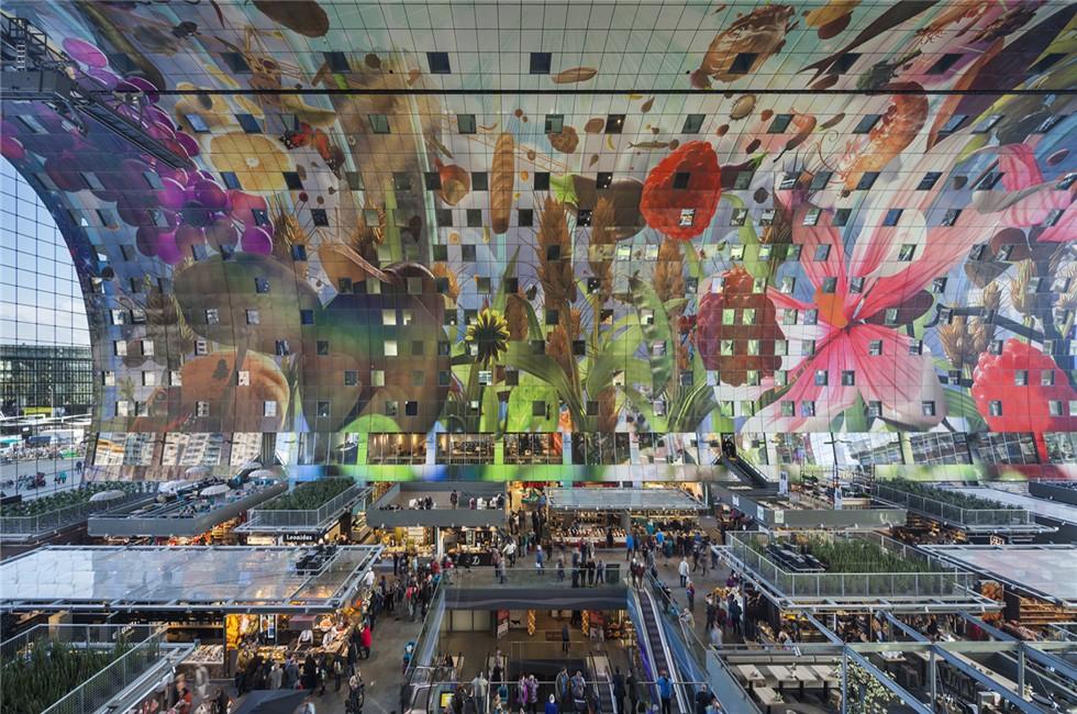 """荷兰最大的""""垂直塔""""城市综合体,库哈斯垂直城市理念的代表作和最新图片"""