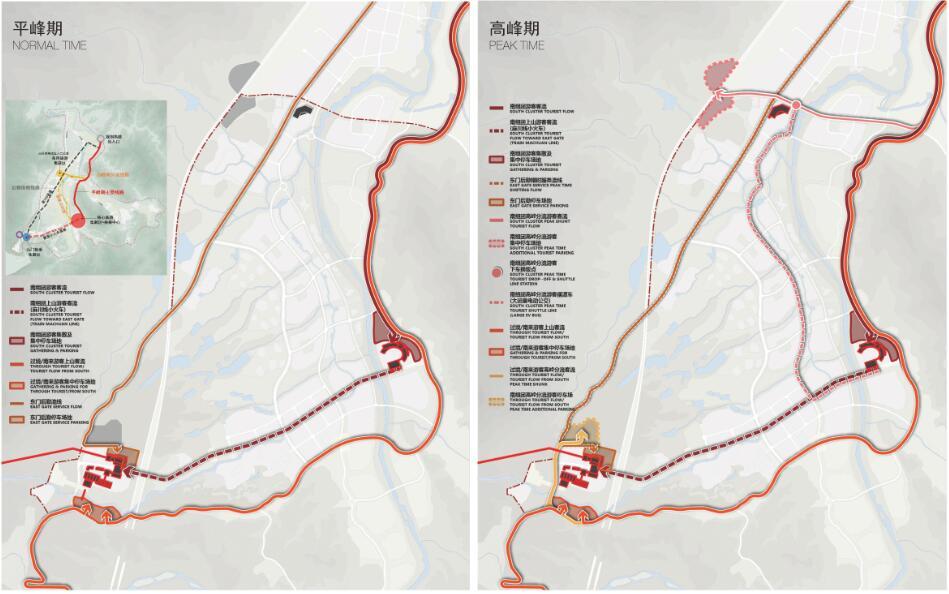 规划丨黄山景区东部门户—谭家桥国际旅游小镇