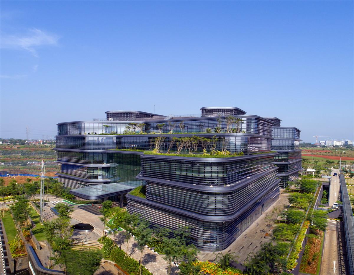 印度尼西亚雅加达联合利华总部大楼,by Aedas_01.jpg