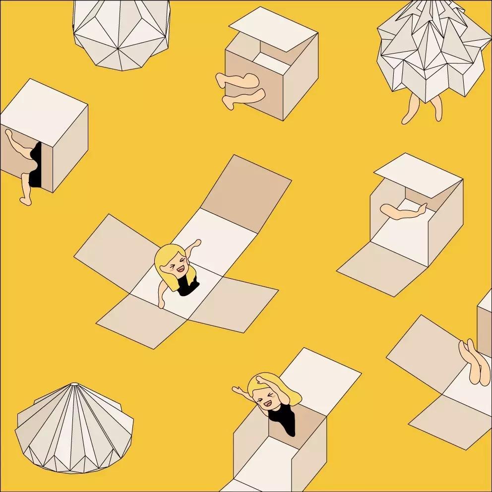 折纸建筑制作步骤