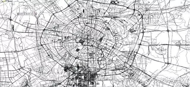小地区丨两种技巧获取任意方法CAD地形图!|地板cad图片
