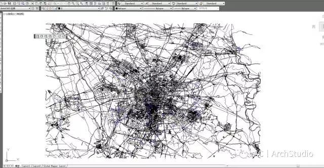 小方法丨两种技巧获取任意地区CAD地形图!|学cad学还是3dmax好图片