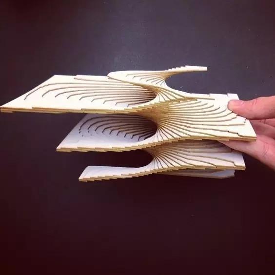 怎么用手工模型制作概念分析图?(灵感集) 建筑学院