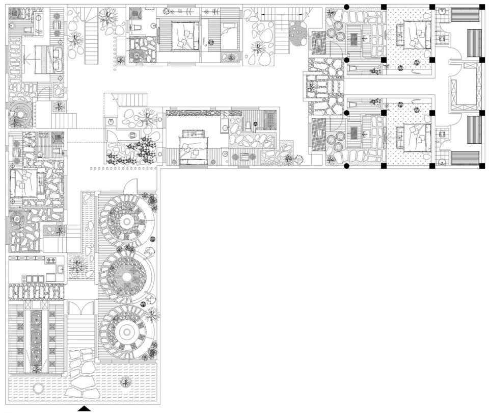 小型民宿设计平面图
