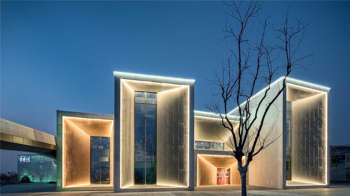 梦想小镇——天颐湖儿童体验馆设计 / 汇城建筑设计