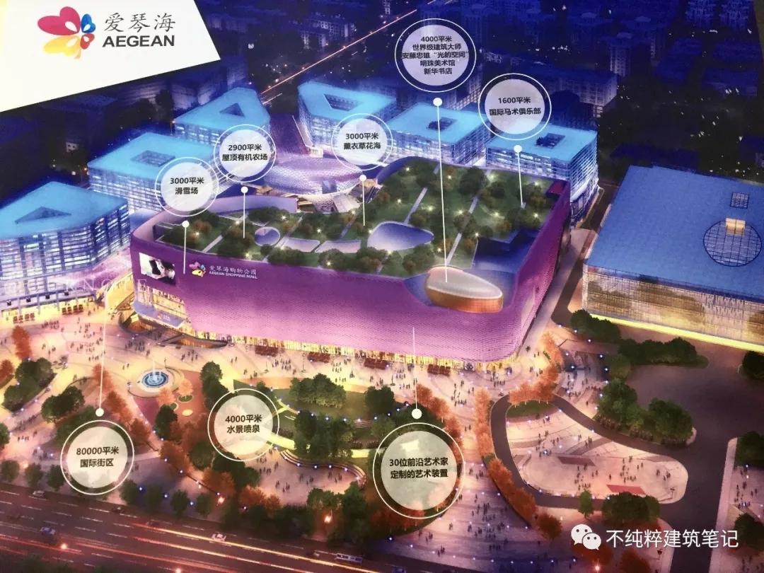 新华红星国际广场效果图,最大的那个体量就是爱琴海购物公园
