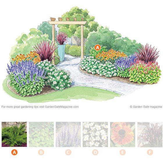 Zone 4 Perennial Garden Plan