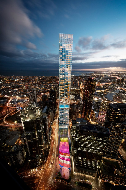 继cctv总部大楼之后,oma设计的第二高建筑 !
