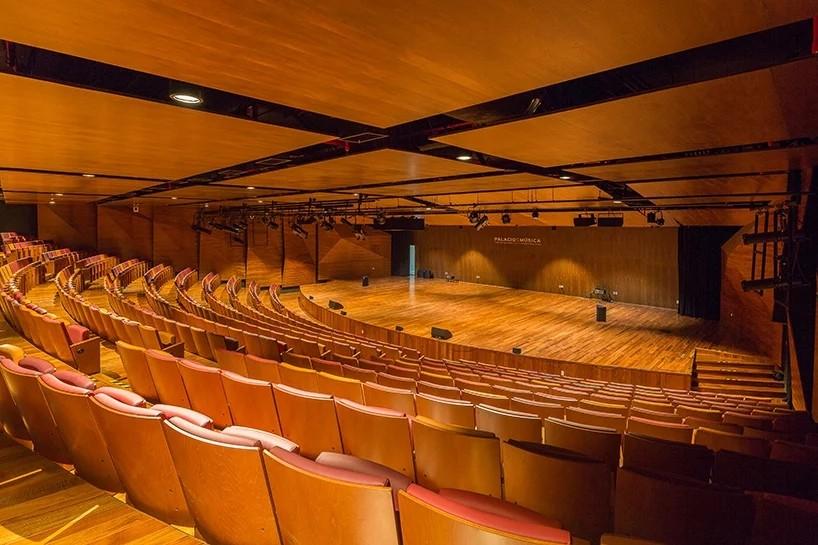 美利达元素o_用现代元素烘托古迹的墨西哥音乐宫 | 建筑学院