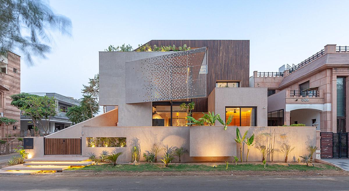 现代房子外观图片