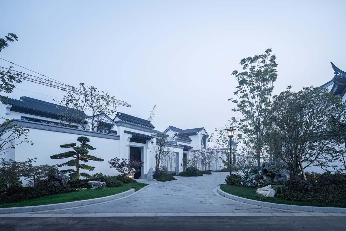 北京百科/浙江青墨建筑设计+悉地(云林)景观设计百度春风图片