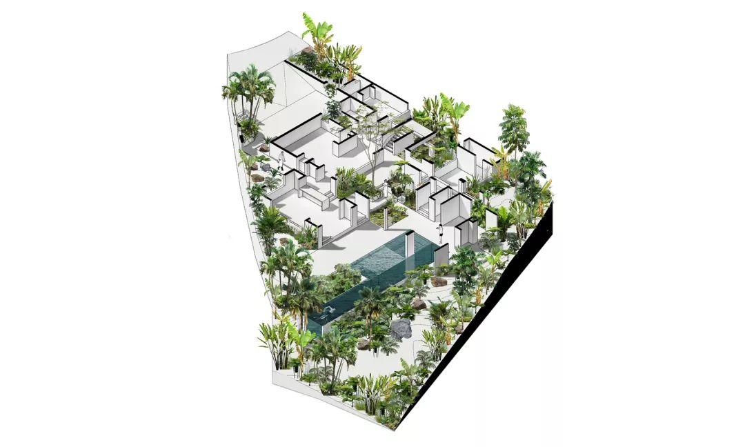 60幅最佳住宅轴测图