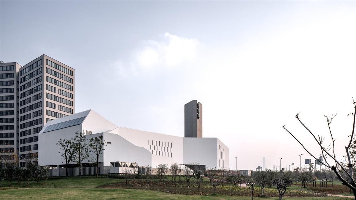 新外滩区教堂|balos+Sentkiewiczarquitectos图纸架滚轮图片
