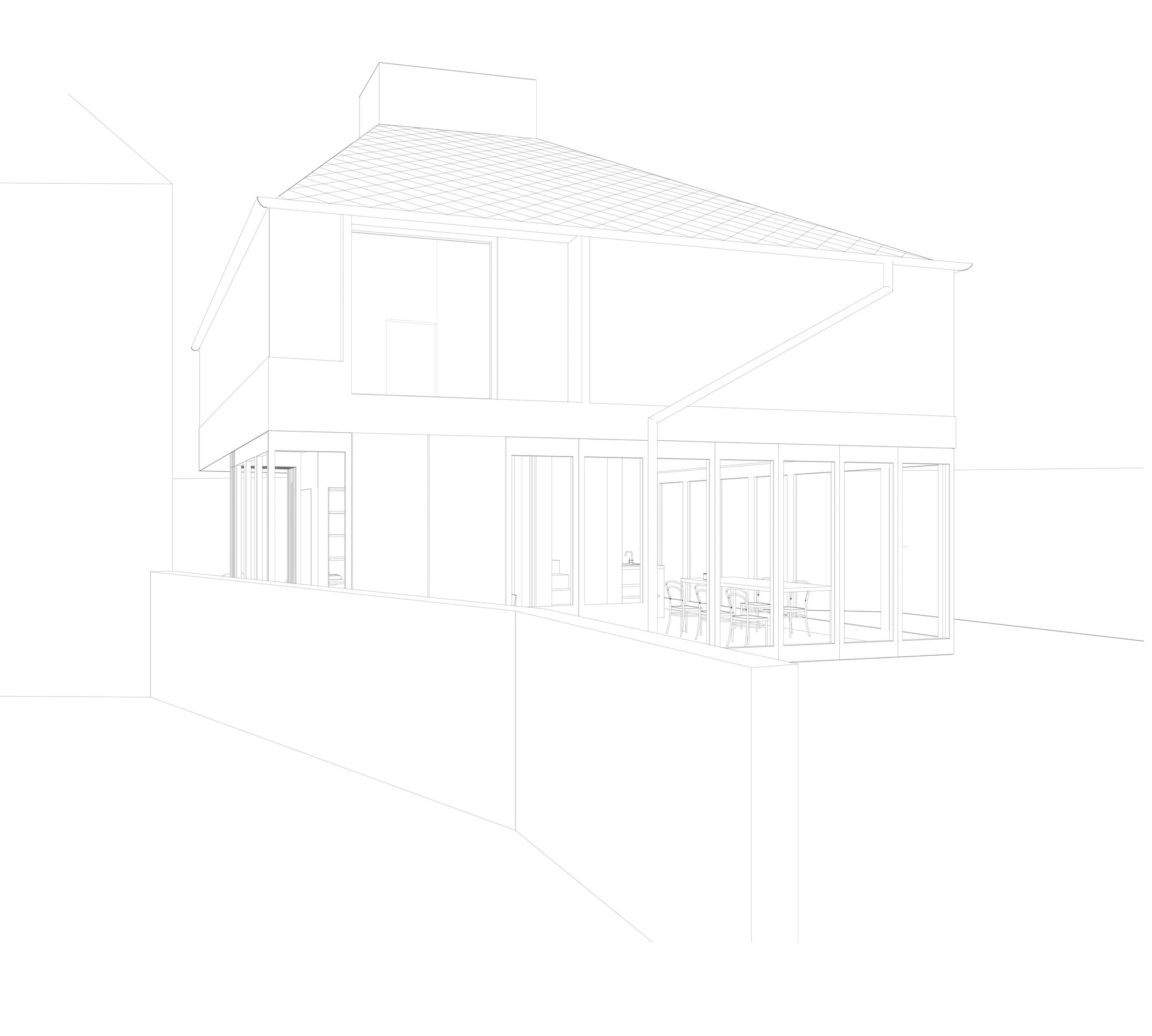 37_A_house_in_a_garden_81_Hollybrook_Grove_Drawing_Line_perspective.jpg
