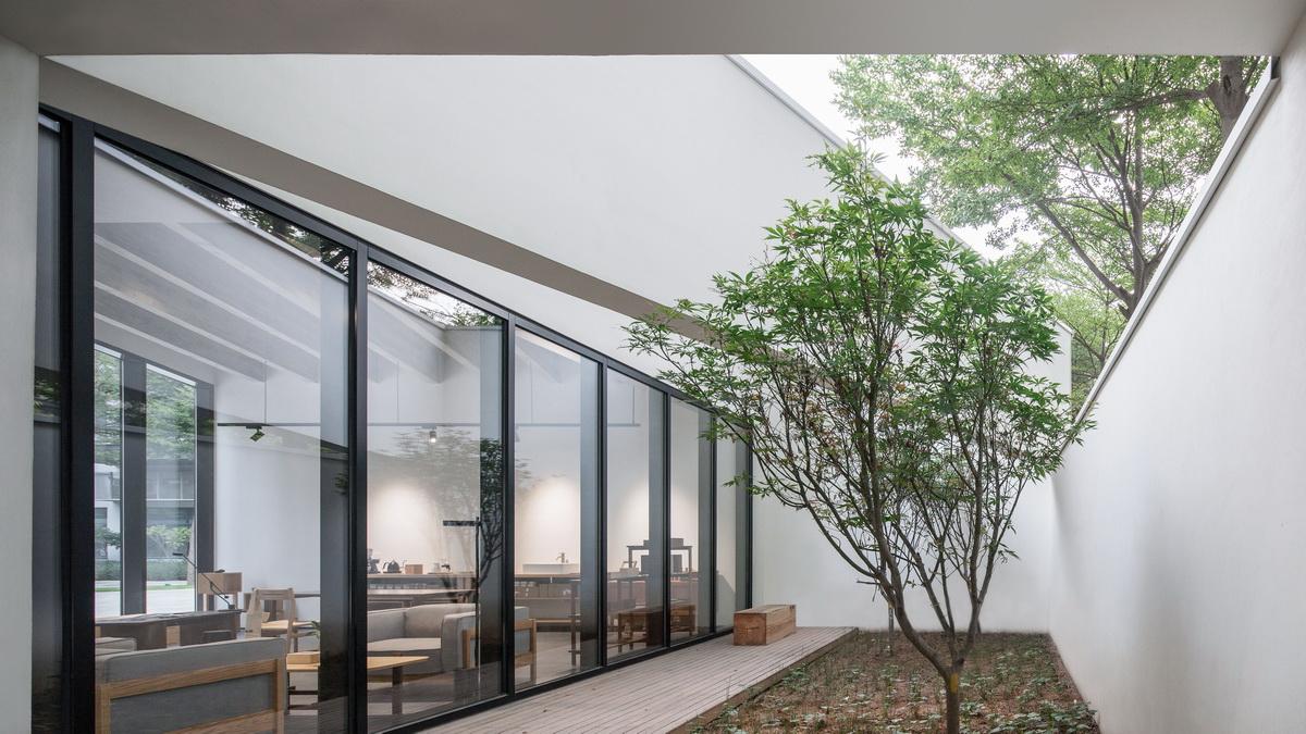 简约而有格调的研究美学馆/墨照建筑设计湖南建筑材料生活设计院图片