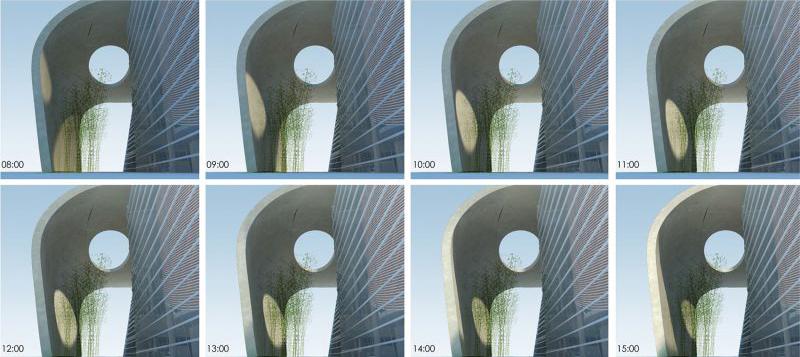 k1_屋顶洞口投射随时间流逝产生不同的投影,Shadow_effect_of_the_entrance_space.jpg
