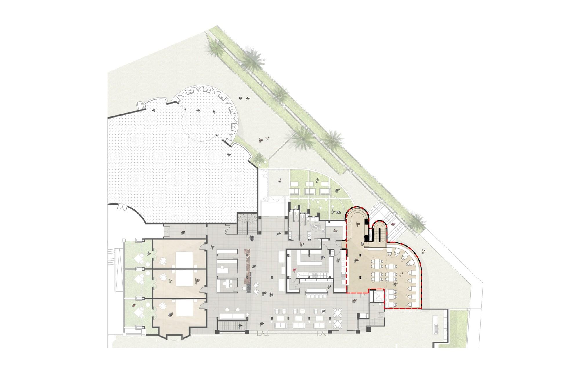 純粹線條創造的優雅體量:弗拉明戈俱樂部酒店/ZoocoEstudio插图18