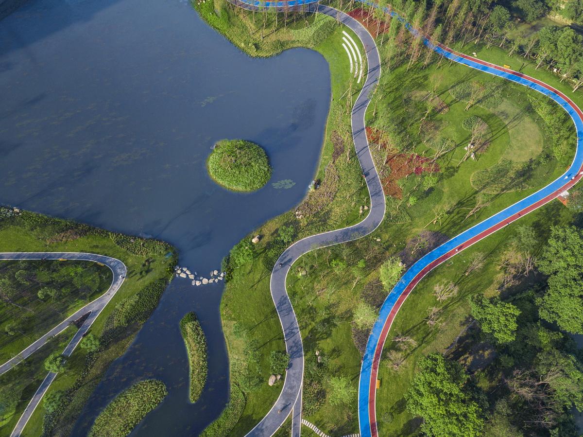 太阳岛湿地公园平面图