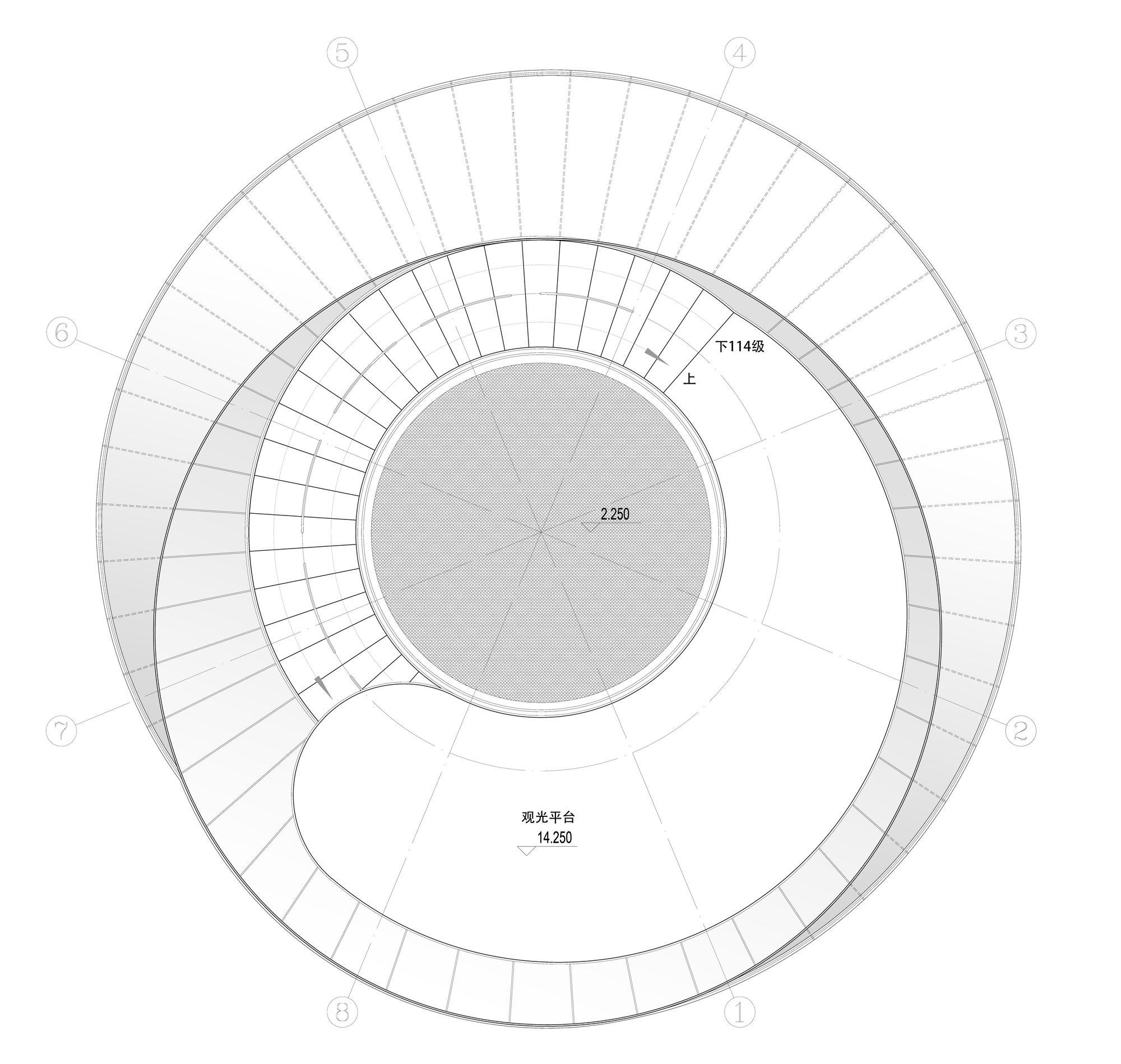 18_出品建筑-观光塔_(18)顶层平面图.jpg
