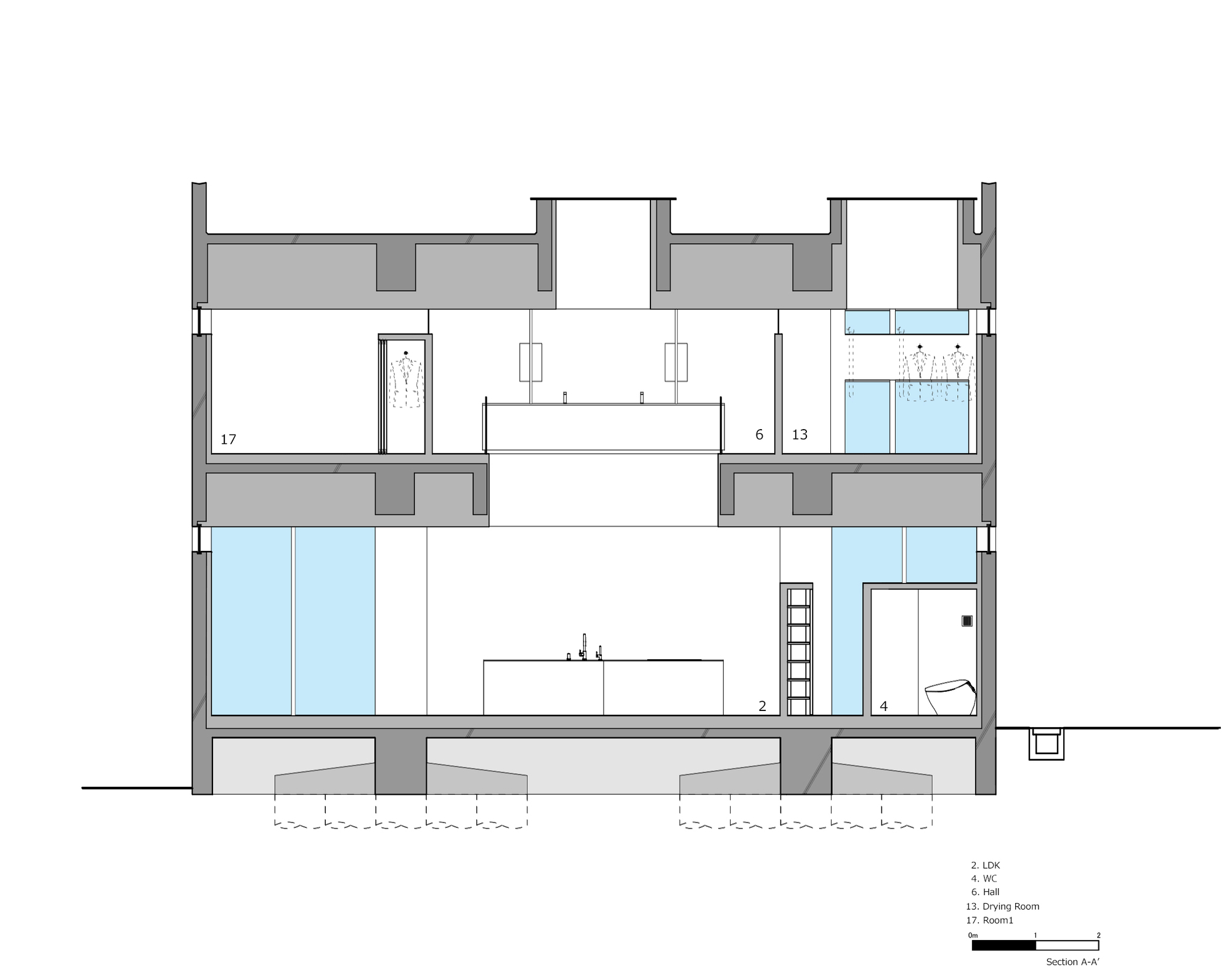 m8 _House_In_Takamatsu_Section01_A-A__ENG.jpg