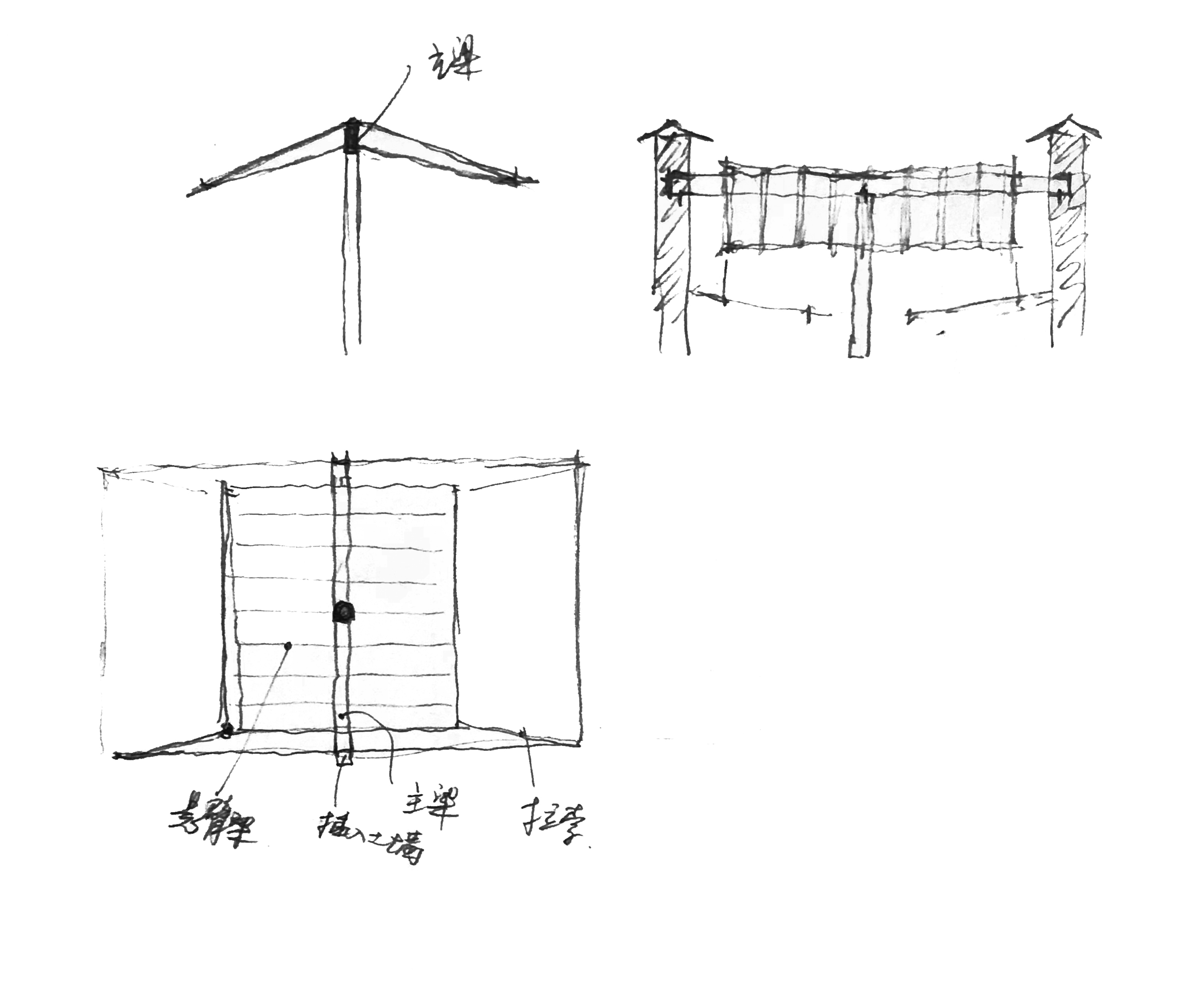 04 伞型屋顶草图 .华黎 Unbrella-shaped roof sketch .HUA Li.jpg
